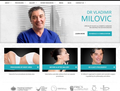 Dr Milovic Website